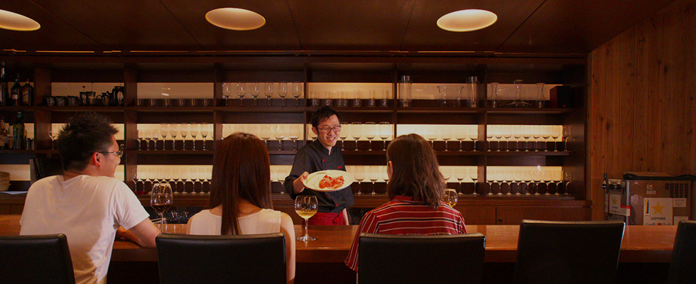 ワイン愛好家のシェフが作るワインに合うお料理画像